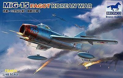 Bronco Models 1/48 MiG-15 Fagot