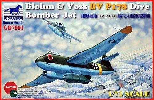 Bronco Models 1/72 Blohm & Voss BV P178 Dive Bomber Jet.