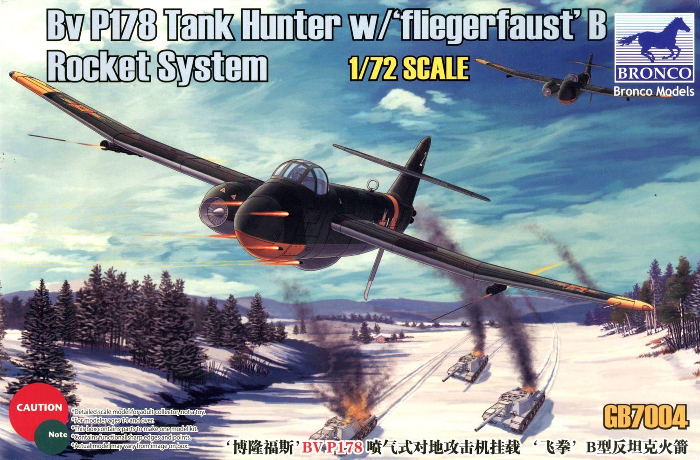 Bronco Models 1/72 BV P178 Tank Hunter w/ Fliegerfaust B Rocket System Jet