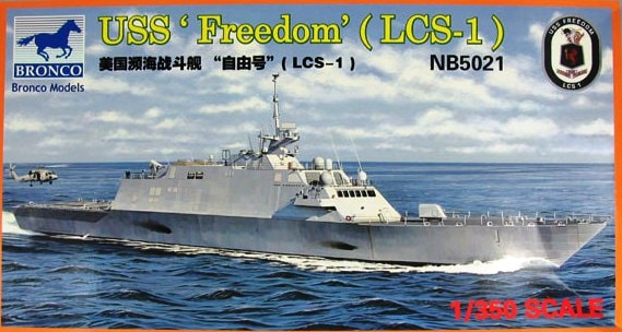 Bronco Models 1/350 USS LCS-1 Freedom Frigate