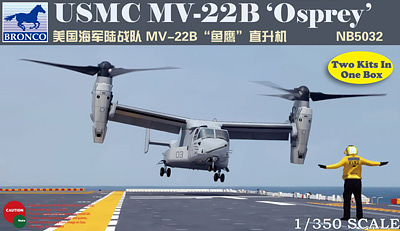 Bronco Models 1/350 USMC MV-22B Osprey Aircraft Model Kit