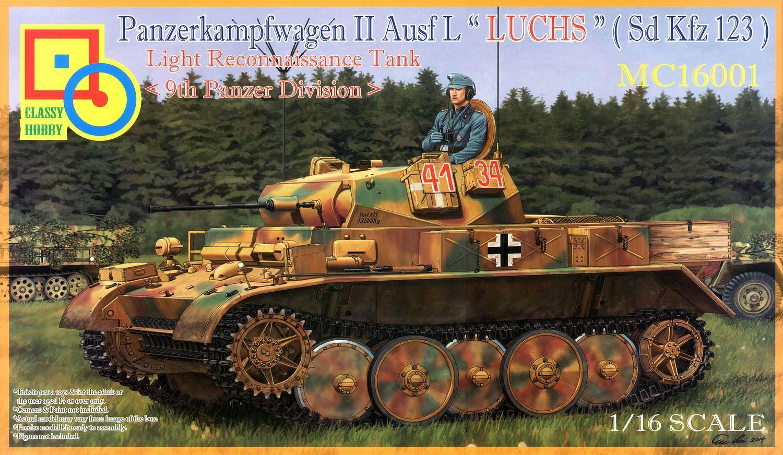 """Classy Hobby 1/16 Panzerkampfwagen II Ausf.L """"Luchs"""""""