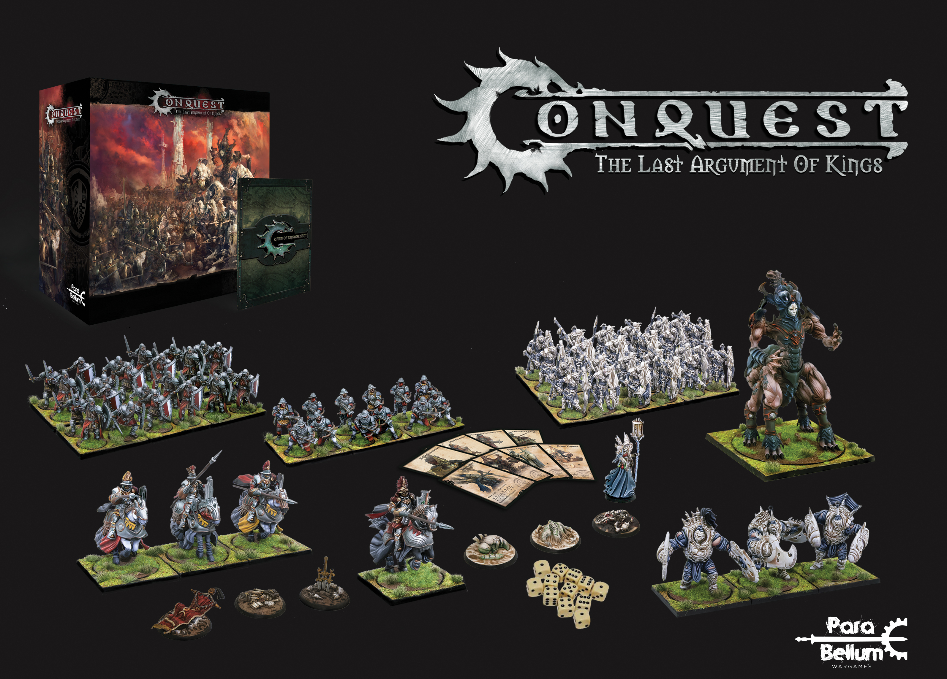 Conquest, English Core Box Two Player DEMO Starter Set (PBW1001)