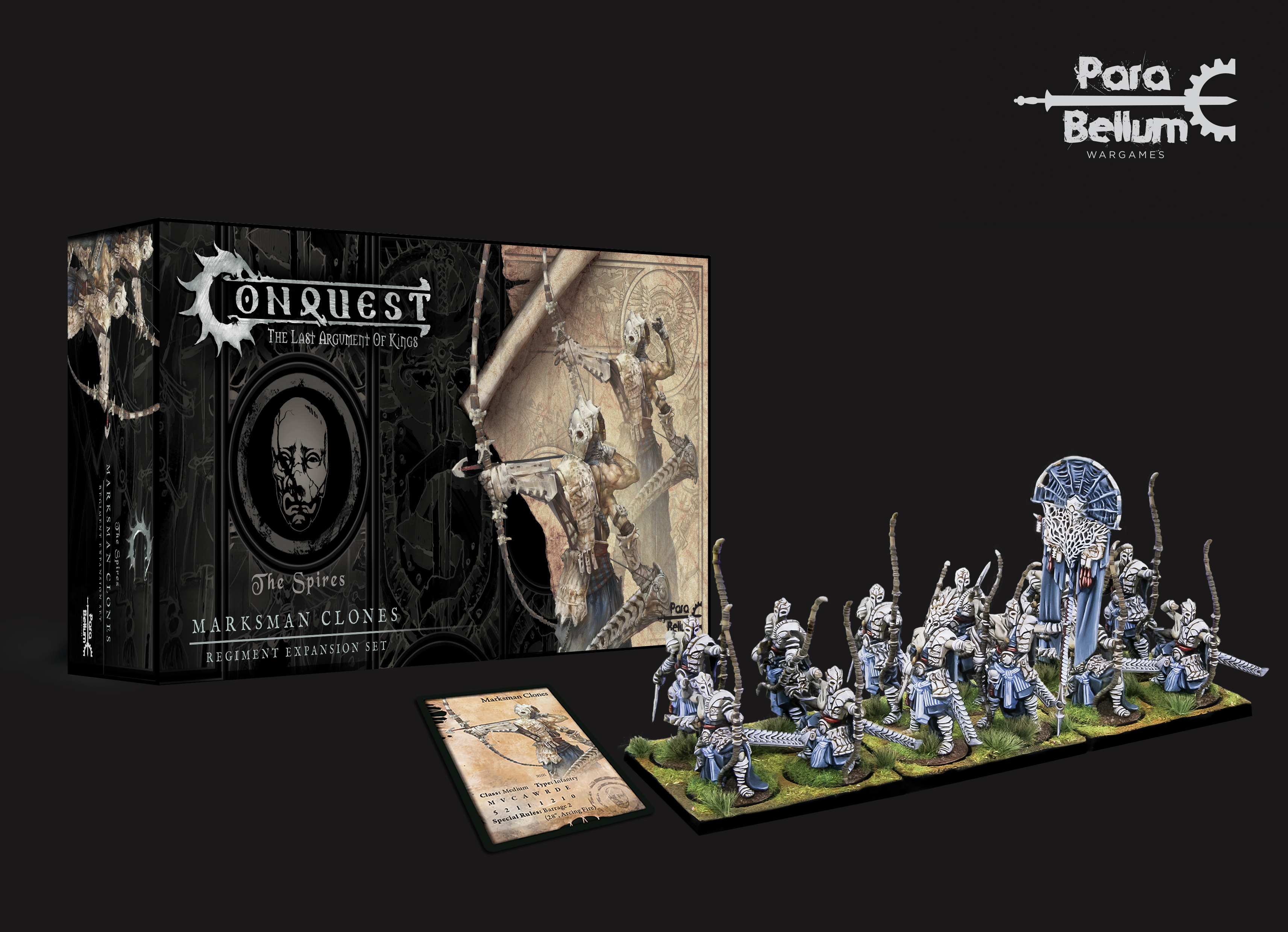 Conquest, Spires - Marksman Clones DEMO Kit (PBW1113)