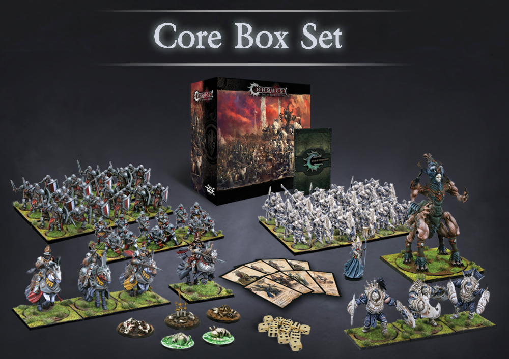 Conquest, French Core Box Two Player Starter Set (PBW9991)
