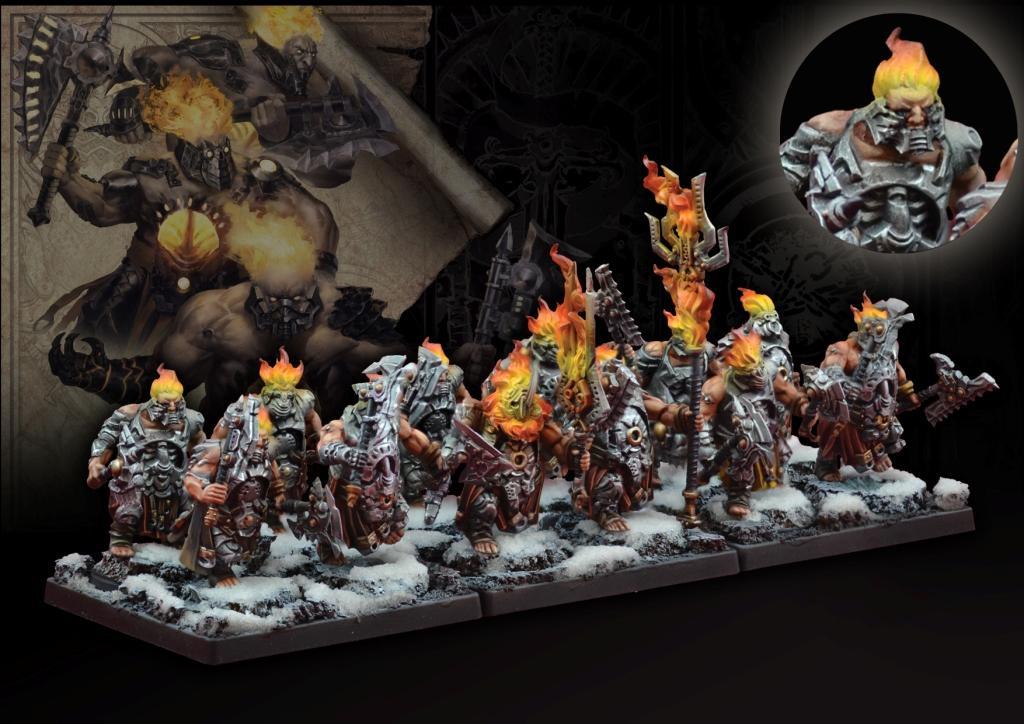 Conquest, Dweghom - Flame Berserkers (PBW3302)