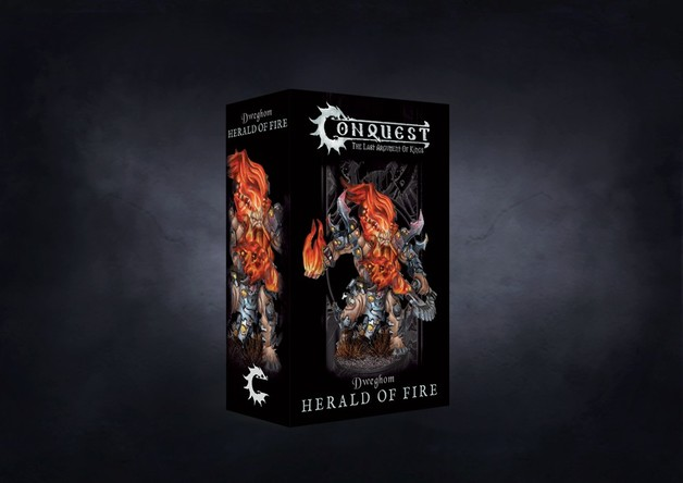 Conquest, Dweghom - Herald of Fire (PBW7336)