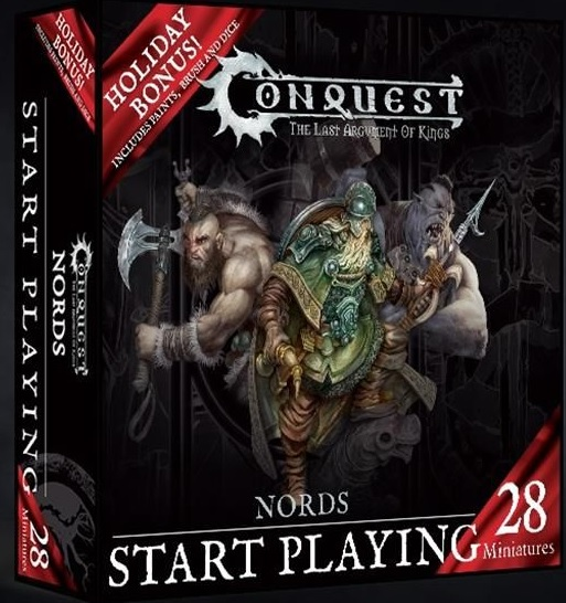 Conquest, Nords Start Playing Holiday Set, Wave 1 (PBW5025 EU)