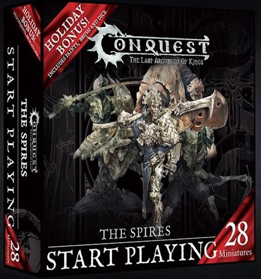 Conquest, Spires Start Playing Holiday Set, Wave 1 (PBW6022)