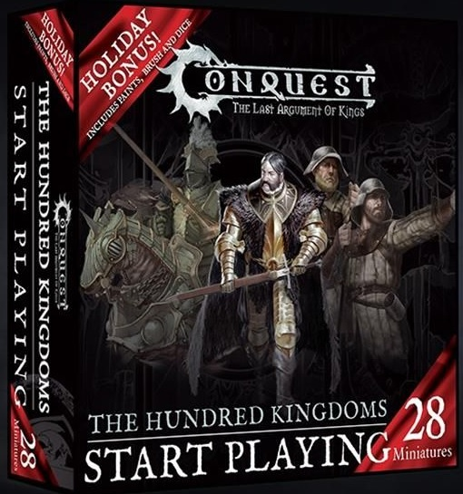 Conquest, Hundred Kingdom Start Playing Holiday Set, Wave 1 (PBW6023)
