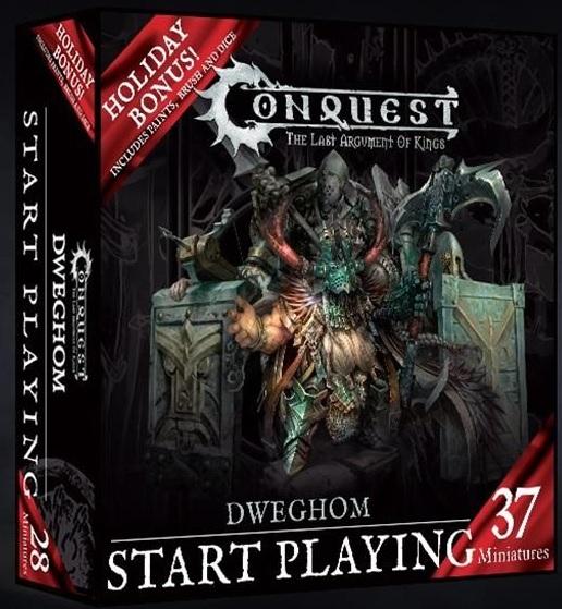 Conquest, Dweghom Start Playing Holiday Set, Wave 1 (PBW6024)