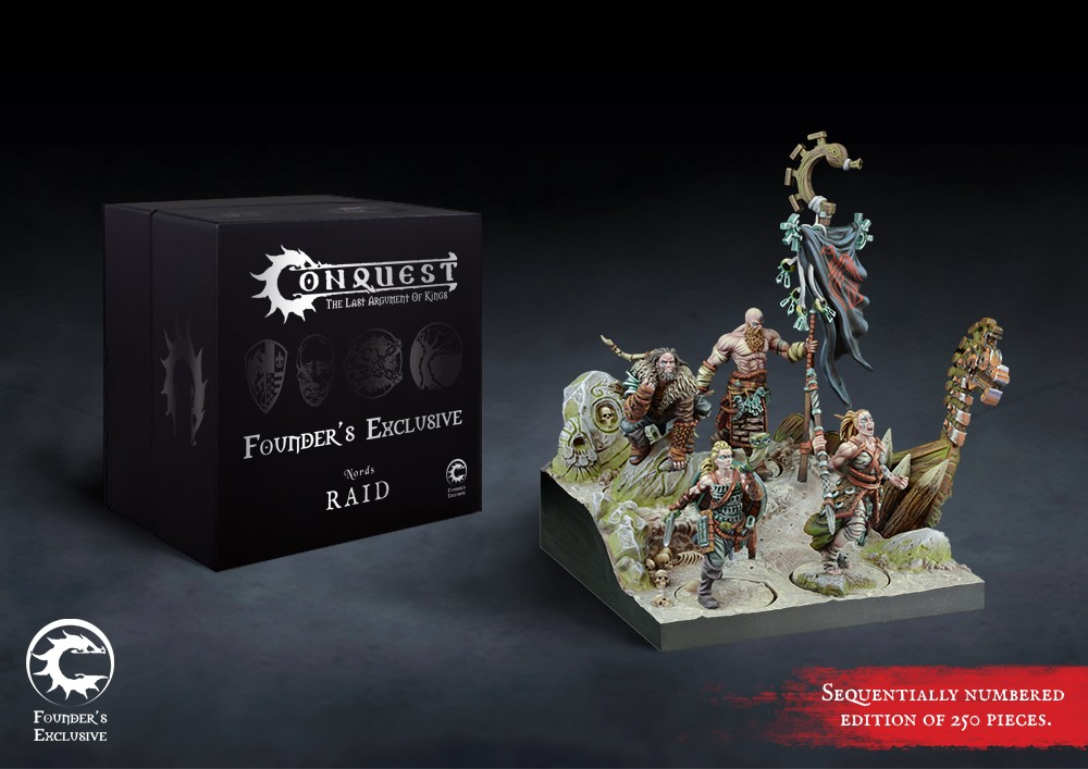Conquest, Nords Founder's Exclusive - Raid (PBW8407)