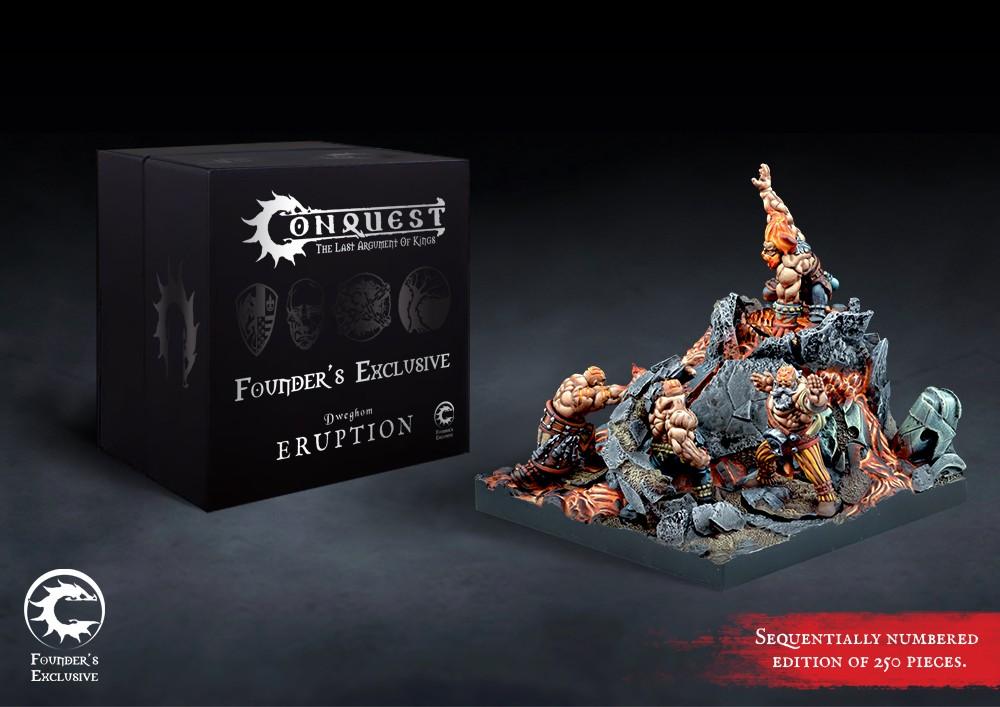 Conquest, Dweghom Founder's Exclusive - Eruption (PBW8307)