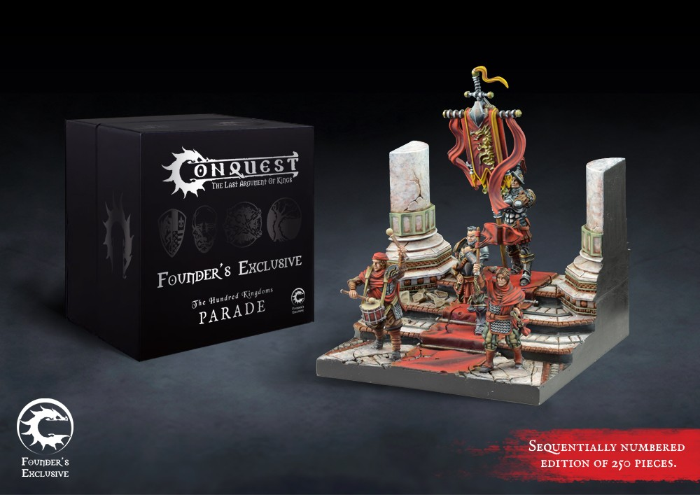 Conquest, Hundred Kingdoms Founder's Exclusive - Parade (PBW8207)