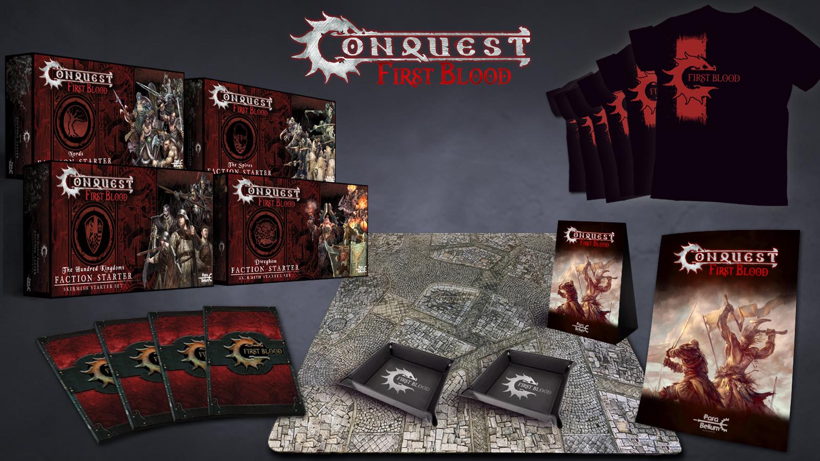 Conquest, First Blood Retailer Program (PBW6035)