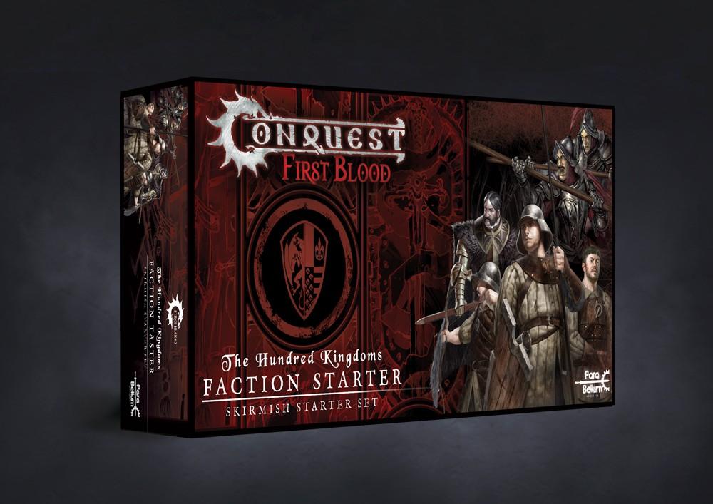 Conquest, First Blood Faction Starter Taster - Hundred Kingdom (PBW6036)
