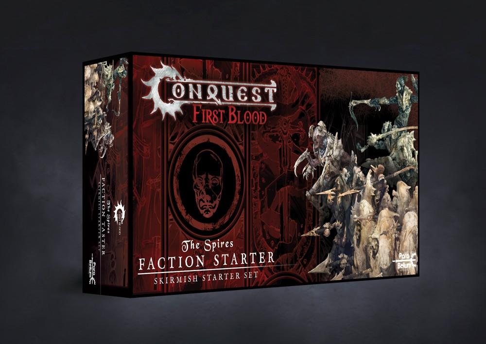 Conquest, First Blood Faction Starter Taster - Spires (PBW6037)