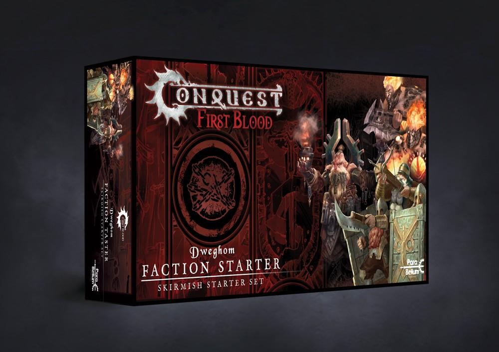 Conquest, First Blood Faction Starter Taster - Dweghom (PBW6038)