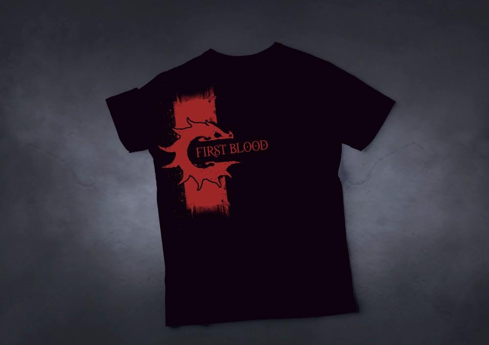 Conquest, First Blood - T-Shirt L (PBW8960)