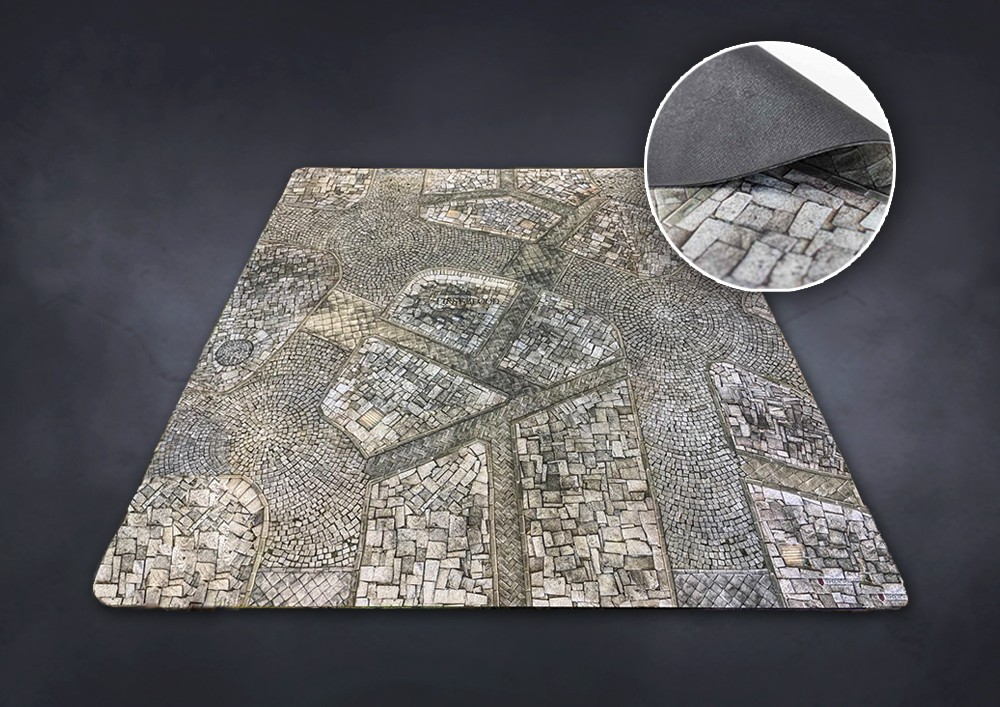 Conquest, First Blood Exclusive Gaming Table Mat 48x48 Inch (PBW8964)