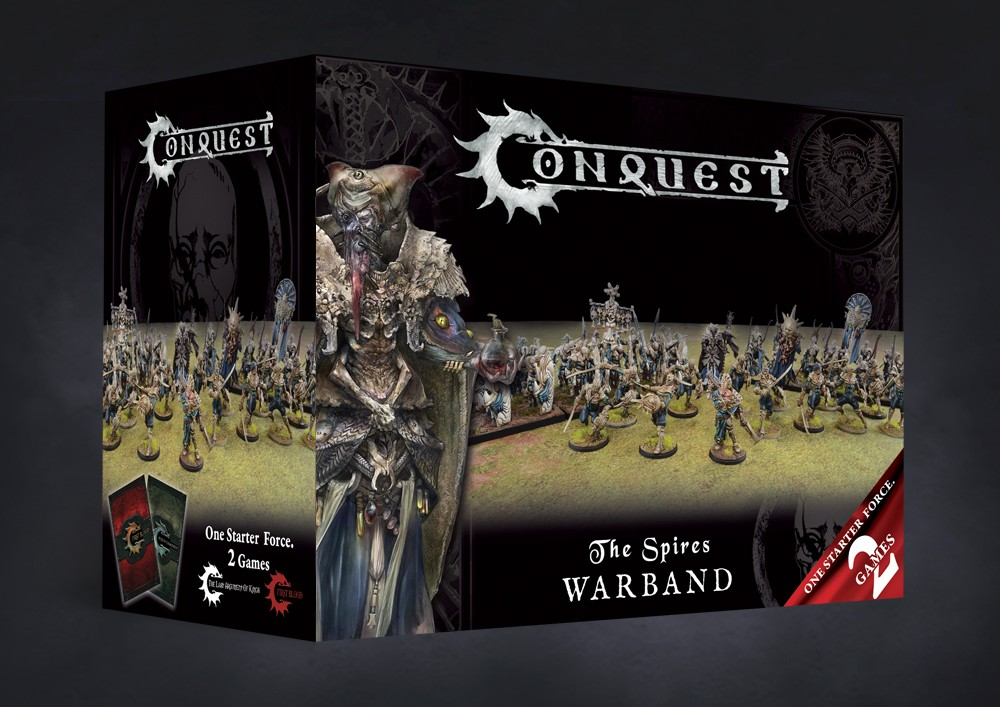 Conquest, Spires - Warband Set (PBW6041)