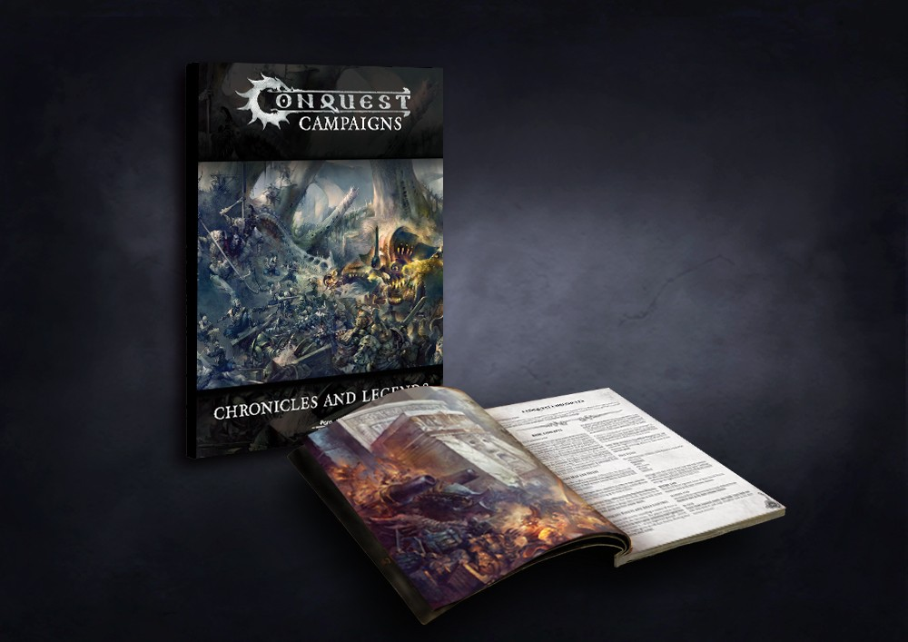 Conquest, Campaign Softcover Book and Rules Expansion (PBW8009)