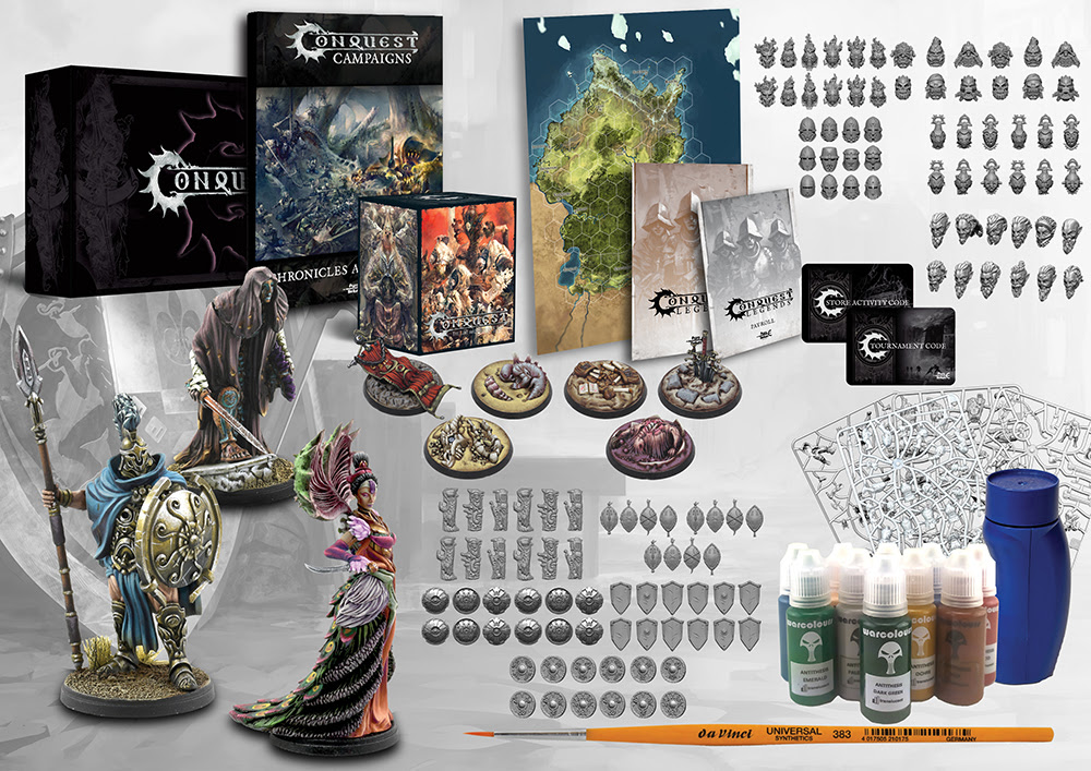 Conquest, Organised Play Kit : Season ONE