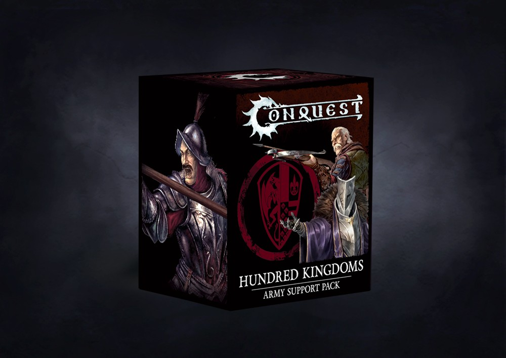 Conquest, Hundred Kingdoms - Army Support Packs Wave 2 (PBW8011)