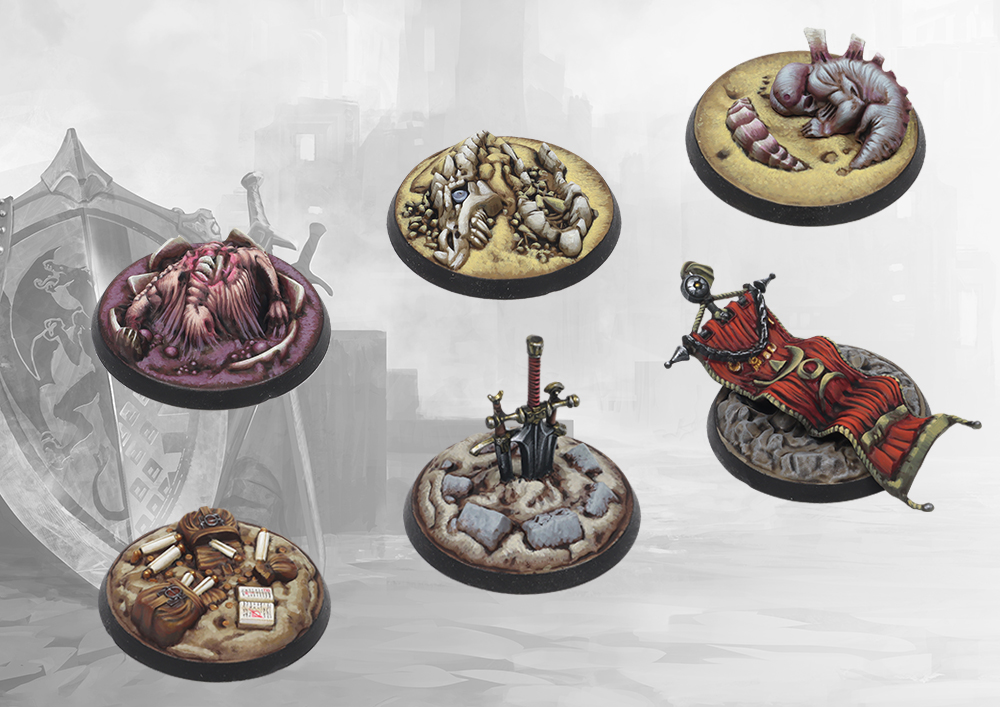 Conquest, Objective Markers (PBW8880)