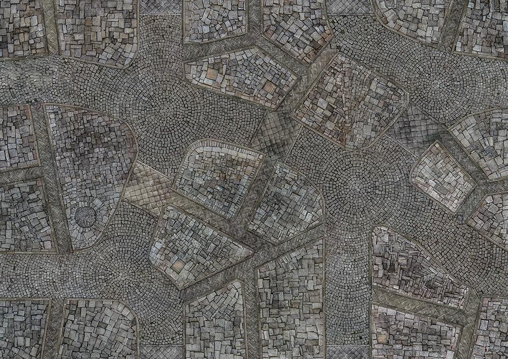 "Conquest, Cobblestone City Mat, 48"" x 72"" (KWG12-64)"