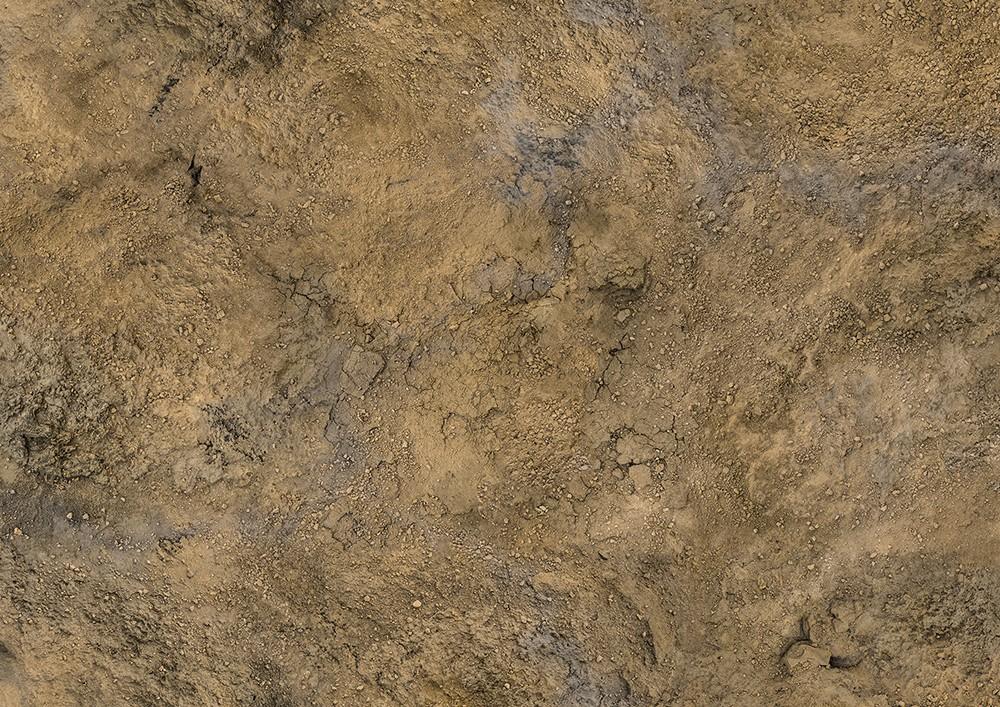 """Conquest, Rock Desert Mat, 48"""" x 48"""" (PBW8986)"""