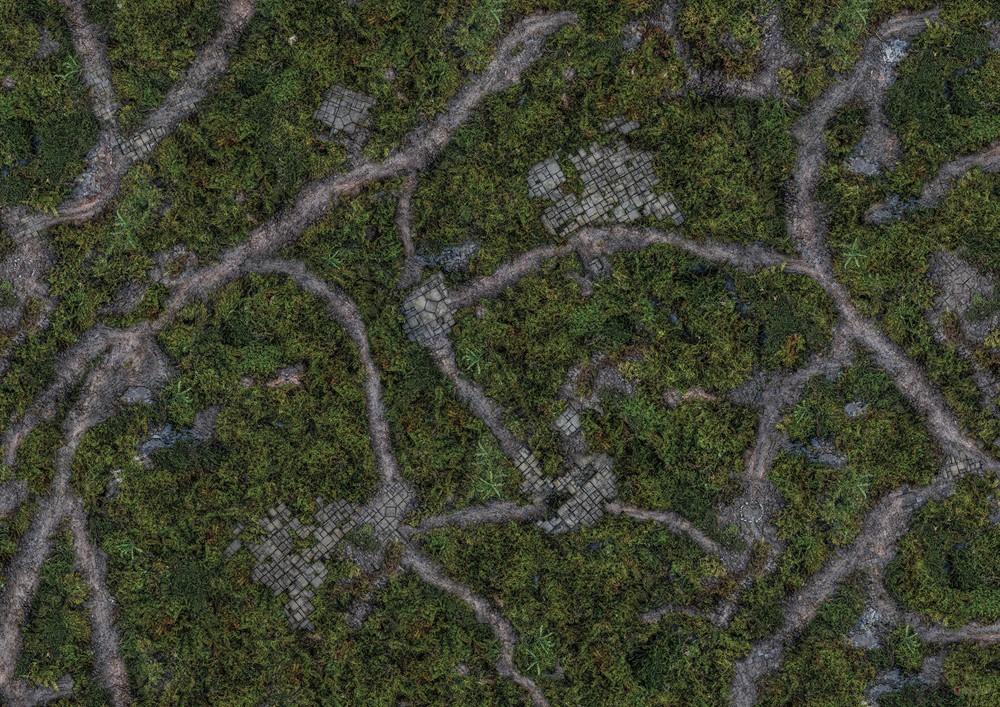 """Conquest, Ancient Green Mat, 44"""" x 60"""" (PBW8979)"""