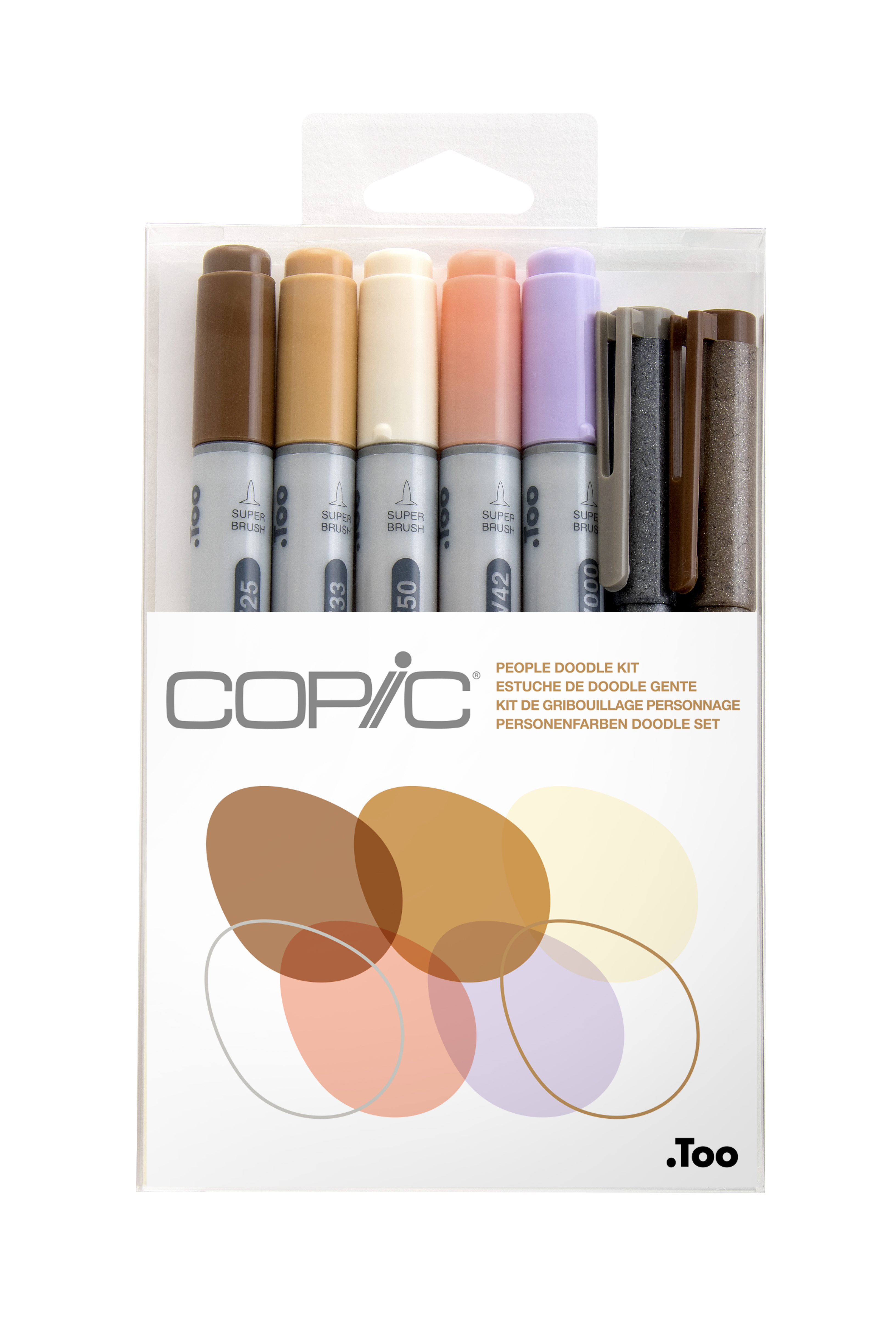 Copic Ciao Marker 7pc Doodle Kit, People