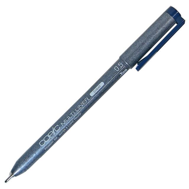 Copic Multiliner Ink Pen, Cobalt 0.5mm