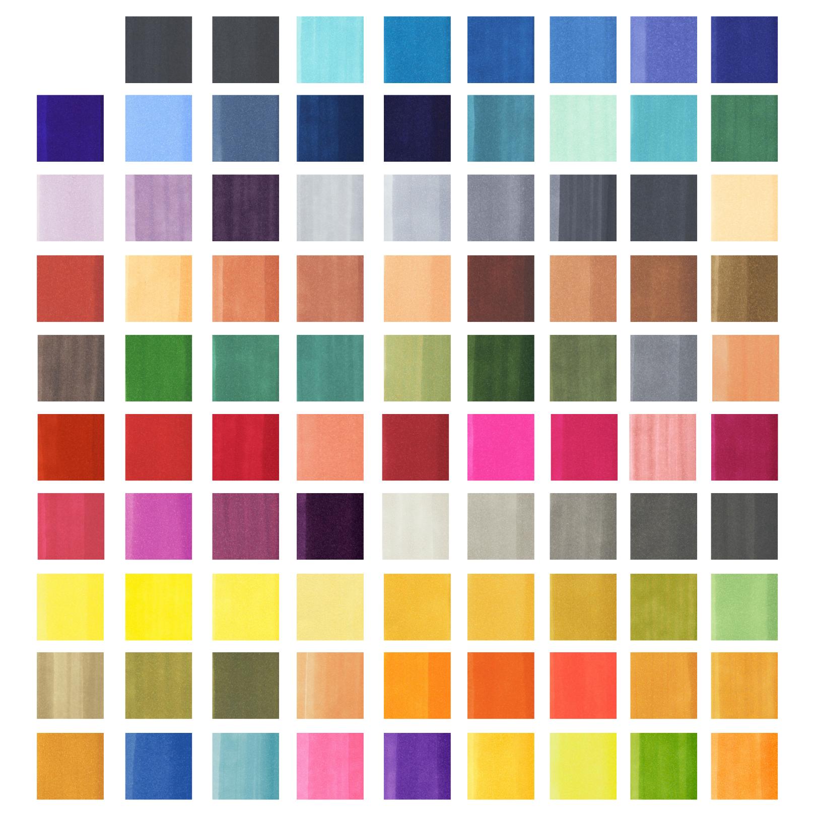 Copic Sketch Marker Display Rack  90 Slots - 3/slot (270 Markers), Starter Set