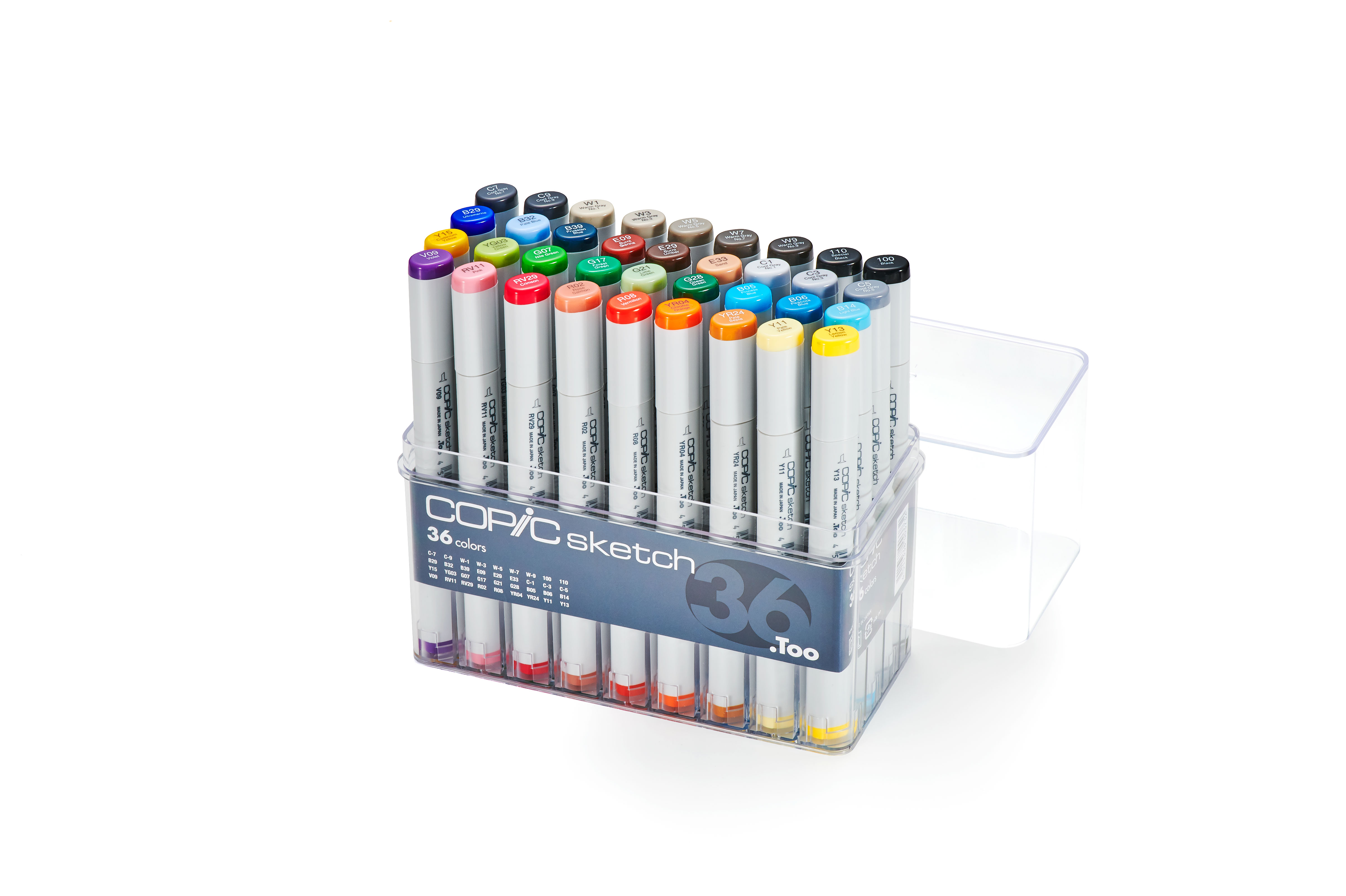 Copic Sketch Marker 36Pc Basic Set