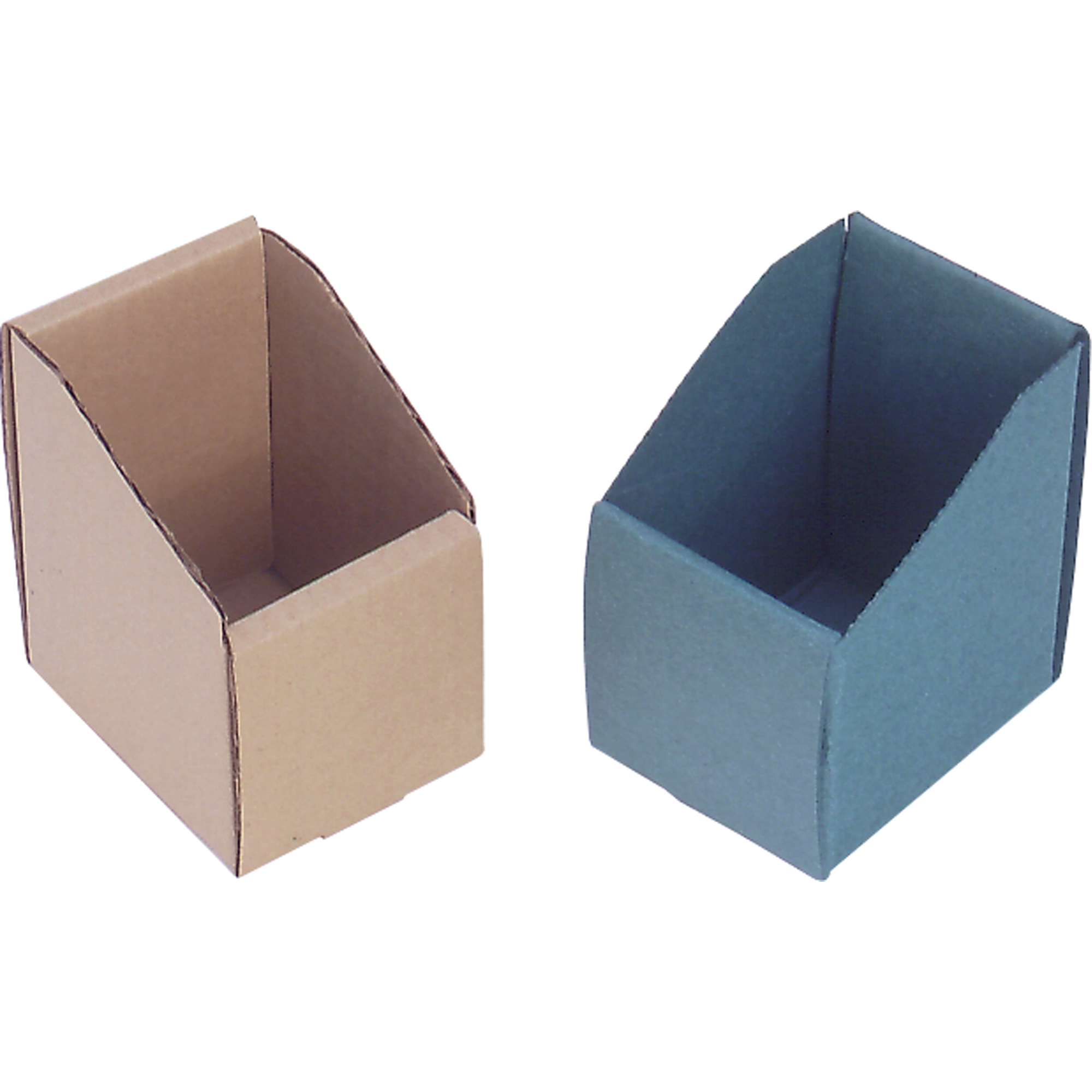 """Cardinal Boxes Corrugated 3 5/8"""" Deep Removable Divider W: 3 3/4 x H: 4 1/8, Beige."""