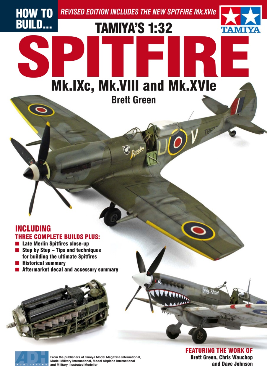 DooLittle Media, How to Build Tamiya's 1:32 Spitfire Book