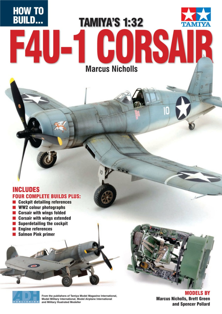 DooLittle Media, How to Build Tamiya's 1:32 F4U-1 Corsair Volume 1