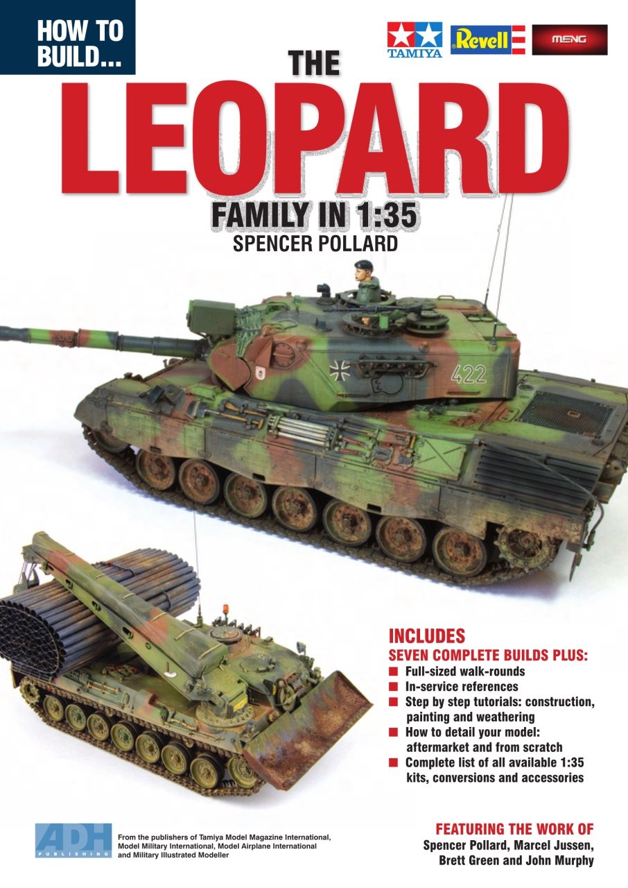 DooLittle Media, How to Build The 1:35 Leopard Family