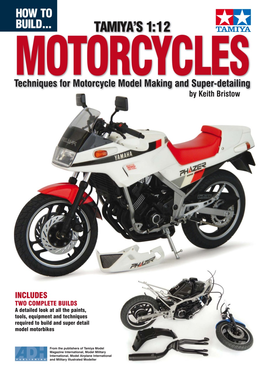 DooLittle Media, How to Build Tamiya's 1:12 Motorcycles
