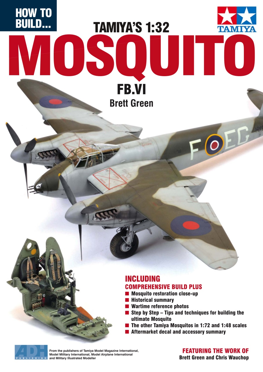 DooLittle Media, How to Build the Tamiya 1:32 Mosquito FB.VI