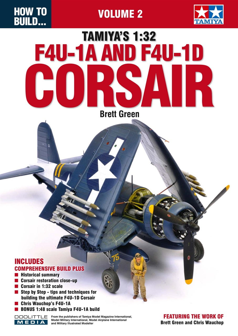 DooLittle Media, How to Build Tamiya's 1:32 F4U-1A & F4U-1D Corsair Volume 2