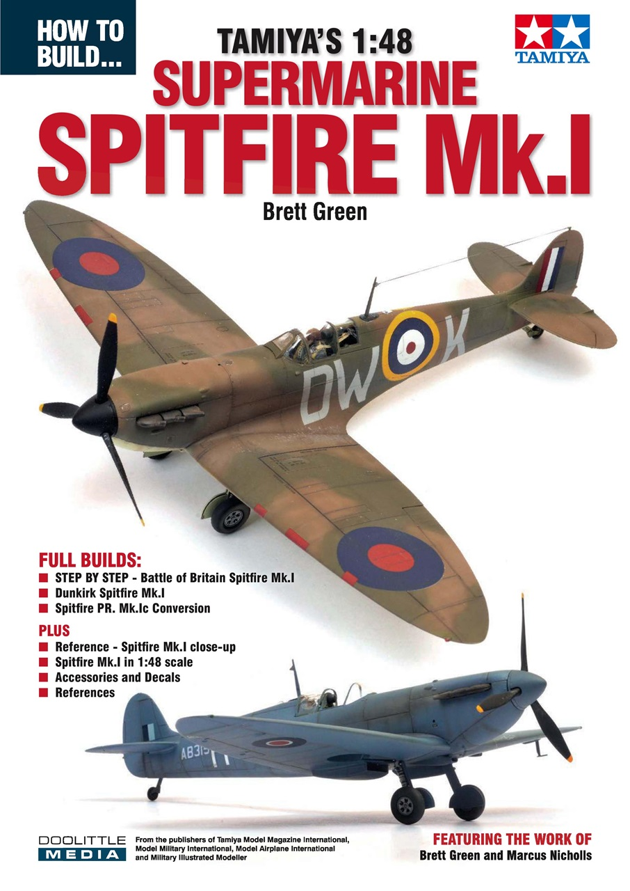 DooLittle Media, How to Build Tamiya's 1:48 Supermarine Spitfire Mk.1