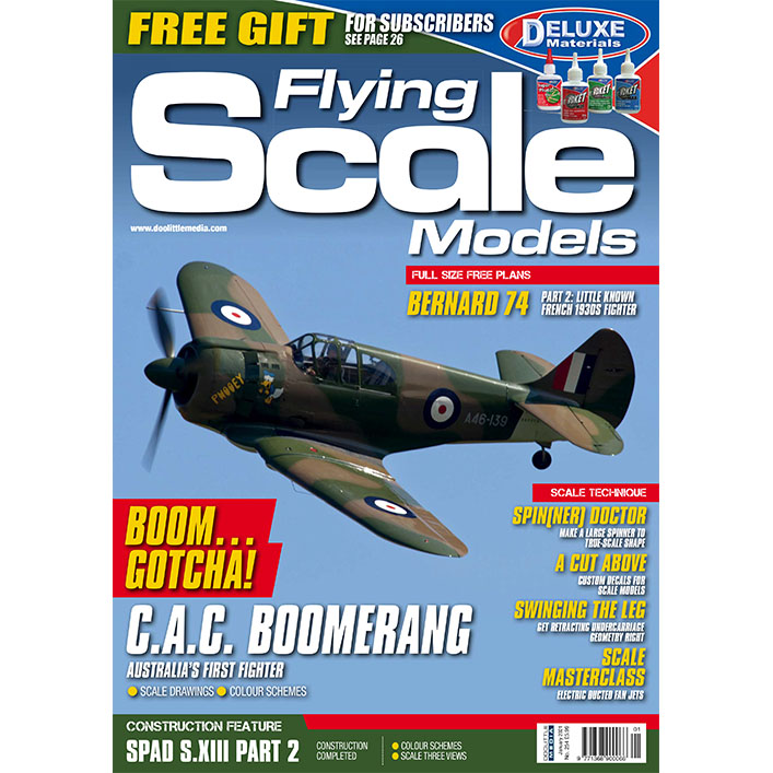 DooLittle Media, Flying Scale Models Issue 254