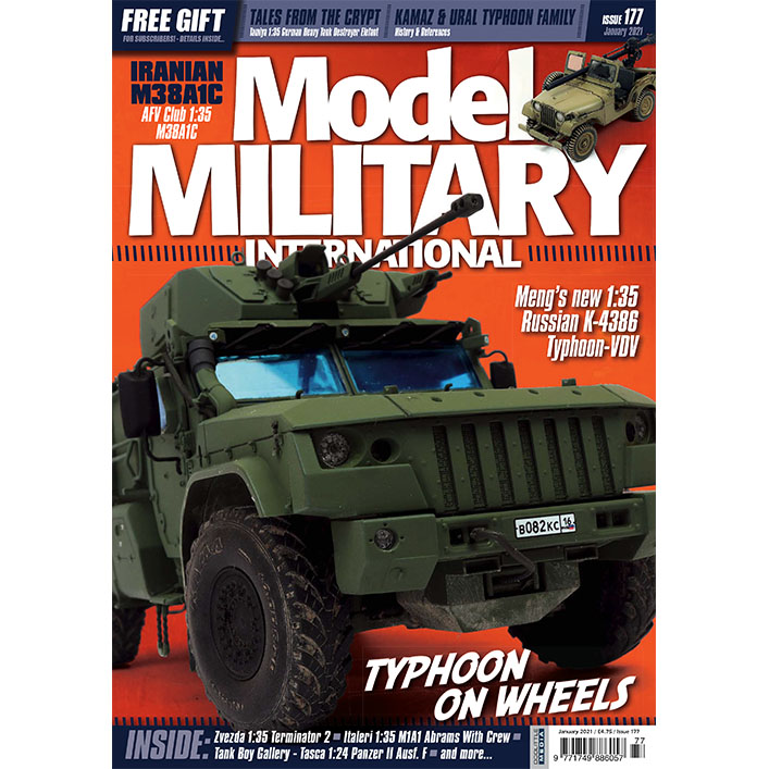 DooLittle Media, Model Military Int Issue 177