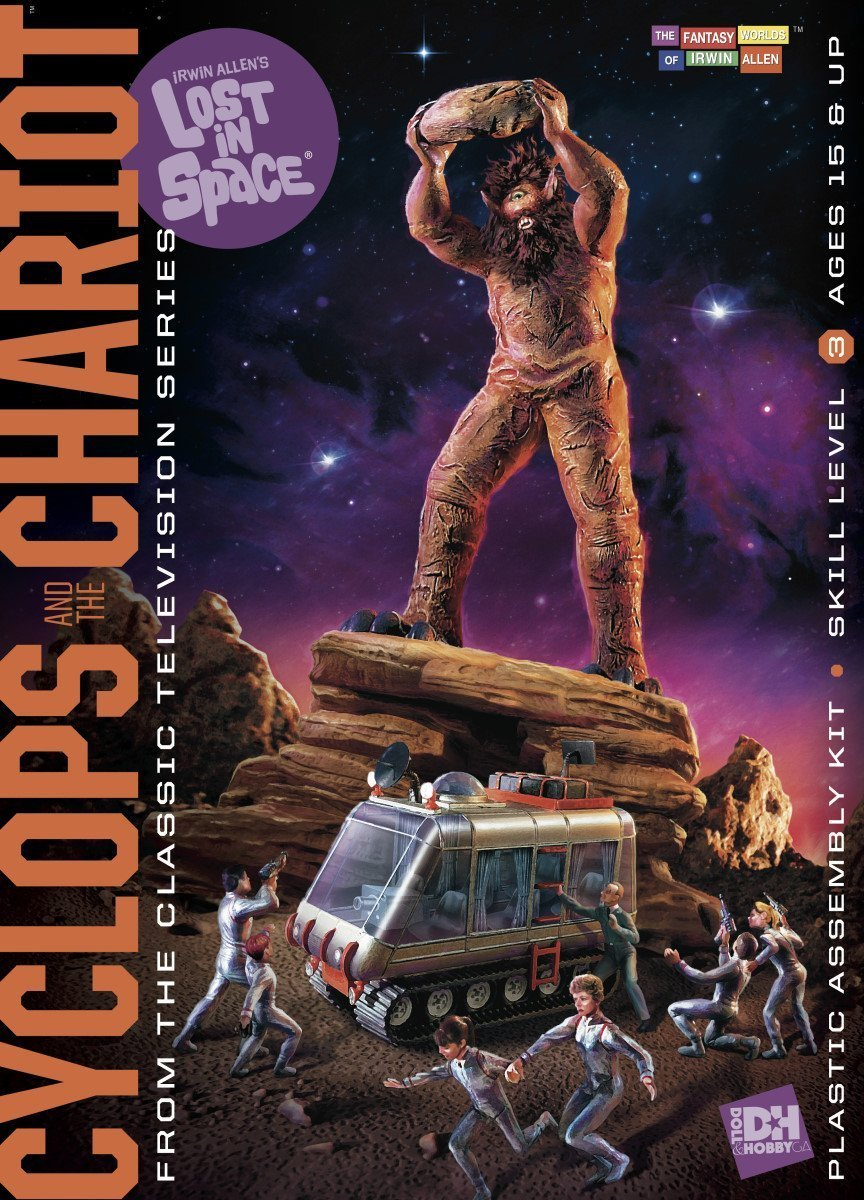 Doll & Hobby Lost in Space Cyclops and Chariot