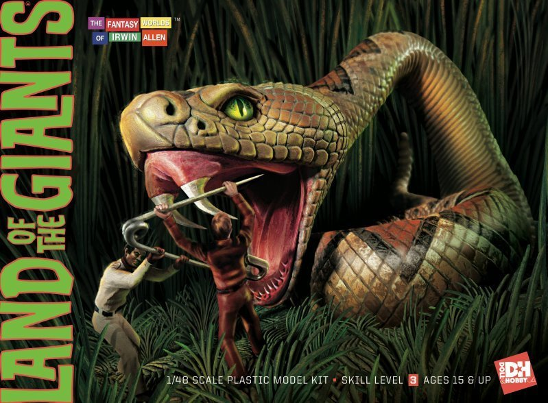 Doll & Hobby 1/48 Land of the Giants Snake Diorama