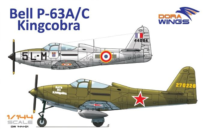 Dora Wings Bell P-63A/C Kingcobra (2 in 1)