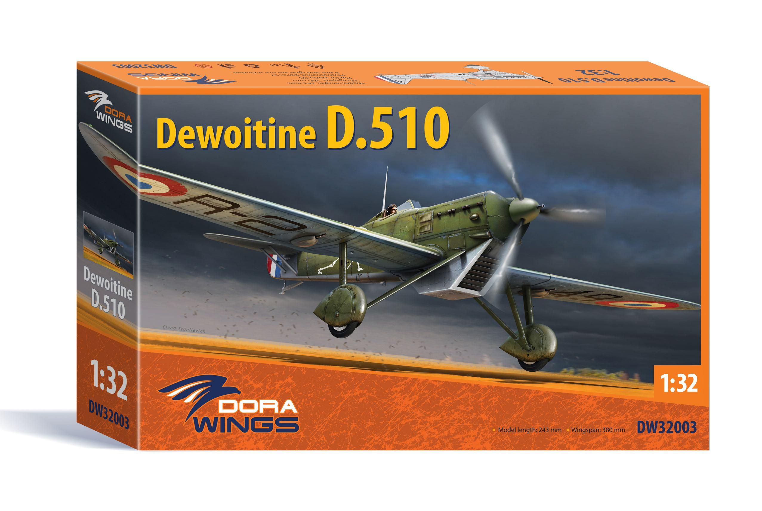 Dora Wings 1/32 Scale Dewoitine D.510